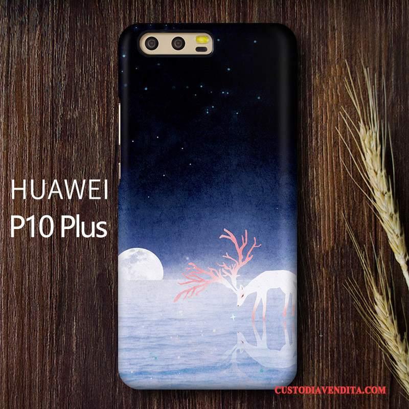 Custodia Huawei P10 Plus Difficile Arte, Cover Huawei P10 Plus Telefono Giallo
