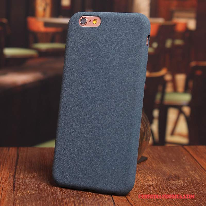 Custodia Iphone 6/6s Silicone Macchiati Blu Cover Iphone 6/6s