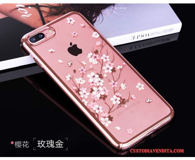 Custodia Iphone 7 Plus Creativo Nuovo Rosso Cover Iphone 7 Plus