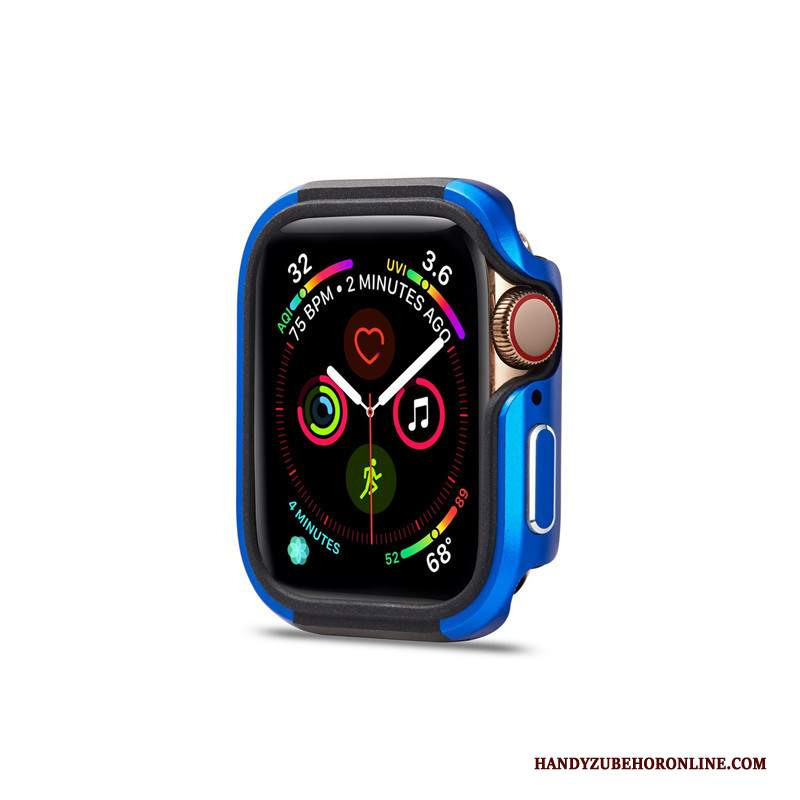 Custodia Apple Watch Series 2 Creativo Di Personalità Borse, Cover Apple Watch Series 2 Protezione Blu Metallo