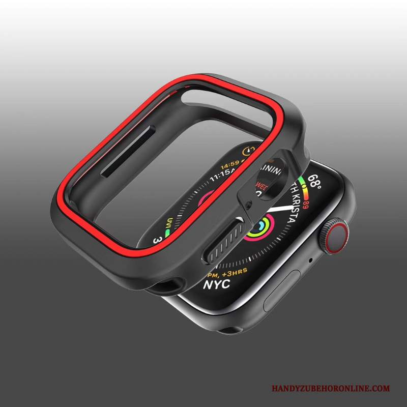Custodia Apple Watch Series 2 Creativo Morbido Rosso, Cover Apple Watch Series 2 Protezione Tutto Incluso