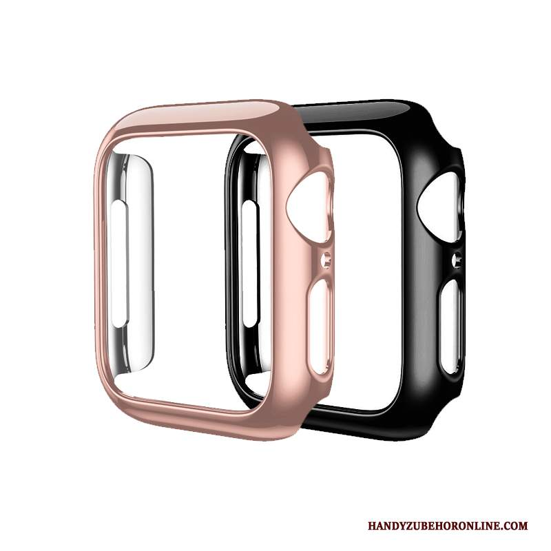 Custodia Apple Watch Series 2 Protezione Oro Rosa Difficile, Cover Apple Watch Series 2 Tutto Incluso Placcatura