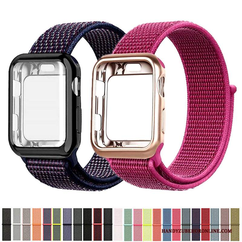 Custodia Apple Watch Series 2 Rosso Nylon, Cover Apple Watch Series 2