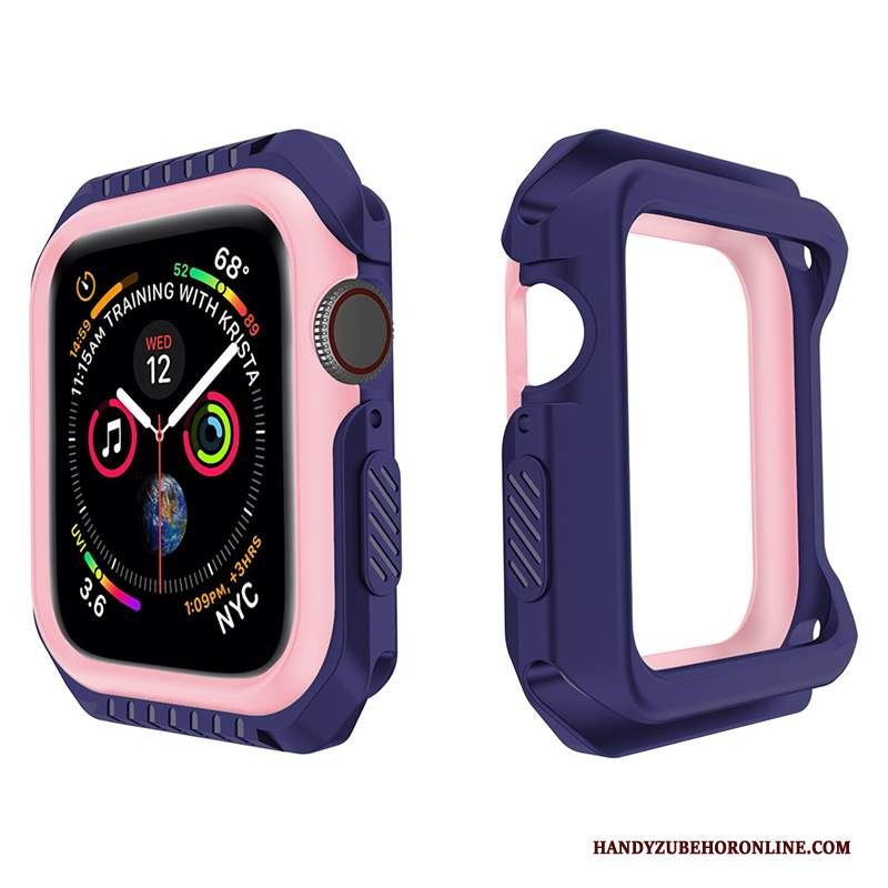 Custodia Apple Watch Series 2 Silicone Morbido Anti-caduta, Cover Apple Watch Series 2 Protezione Porpora