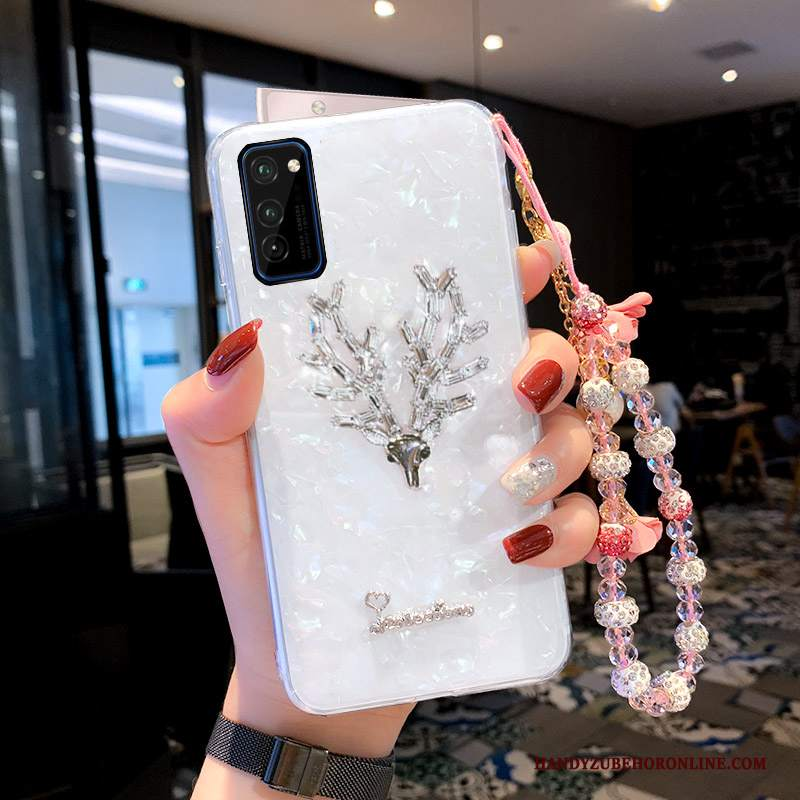 Custodia Honor 30 Pro Creativo Ornamenti Appesi Di Personalità, Cover Honor 30 Pro Strass Conchiglia Alce