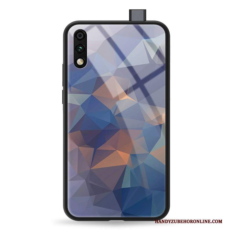 Custodia Honor 9x Protezione Telefono Net Red, Cover Honor 9x Cartone Animato Gradiente Anti-caduta