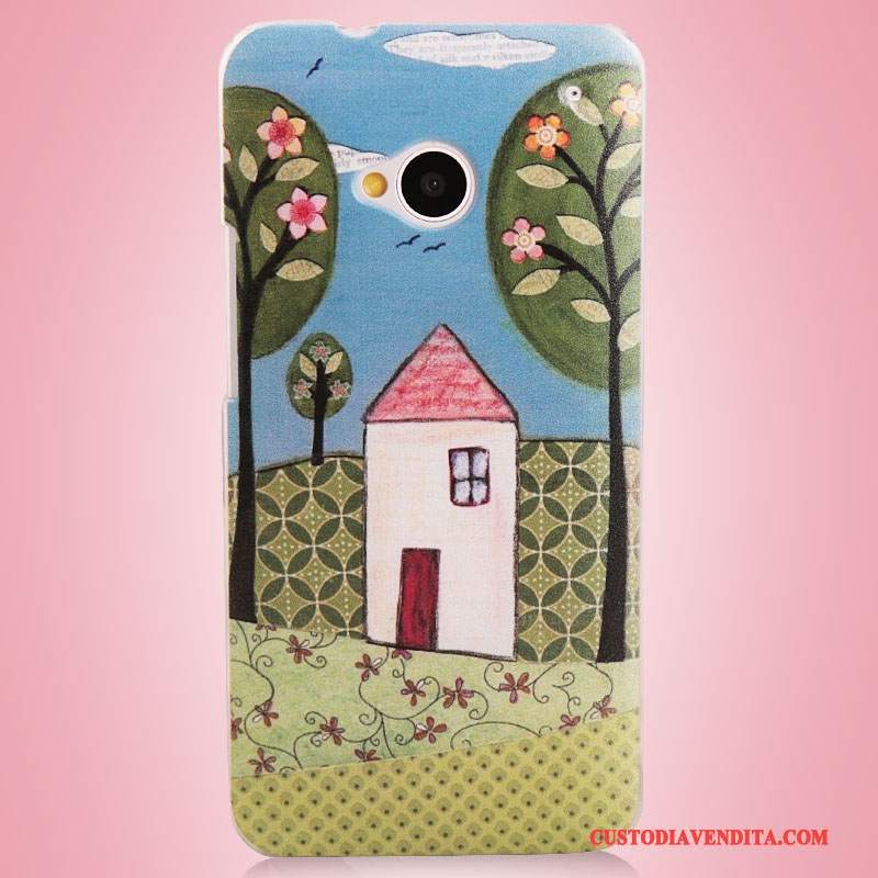Custodia Htc One M7 Colore Telefono, Cover Htc One M7 Colore