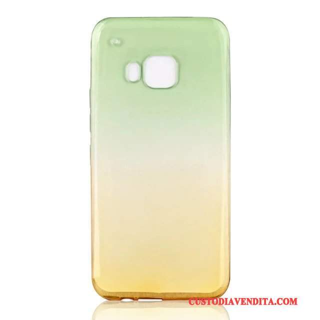 Custodia Htc One M9 Protezione Chiarotelefono, Cover Htc One M9 Verde Gradiente
