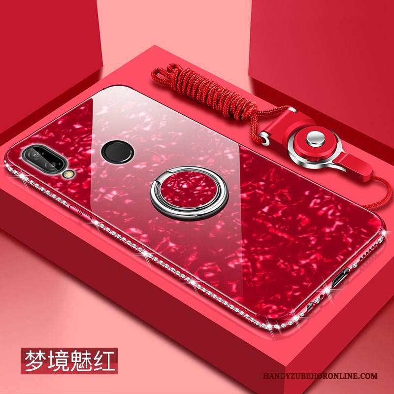 Custodia Huawei P20 Lite Moda Di Personalità Nuovo, Cover Huawei P20 Lite Protezione Rossotelefono