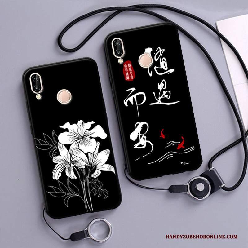 Custodia Huawei P20 Lite Silicone Morbidotelefono, Cover Huawei P20 Lite Protezione Tutto Incluso Anti-caduta