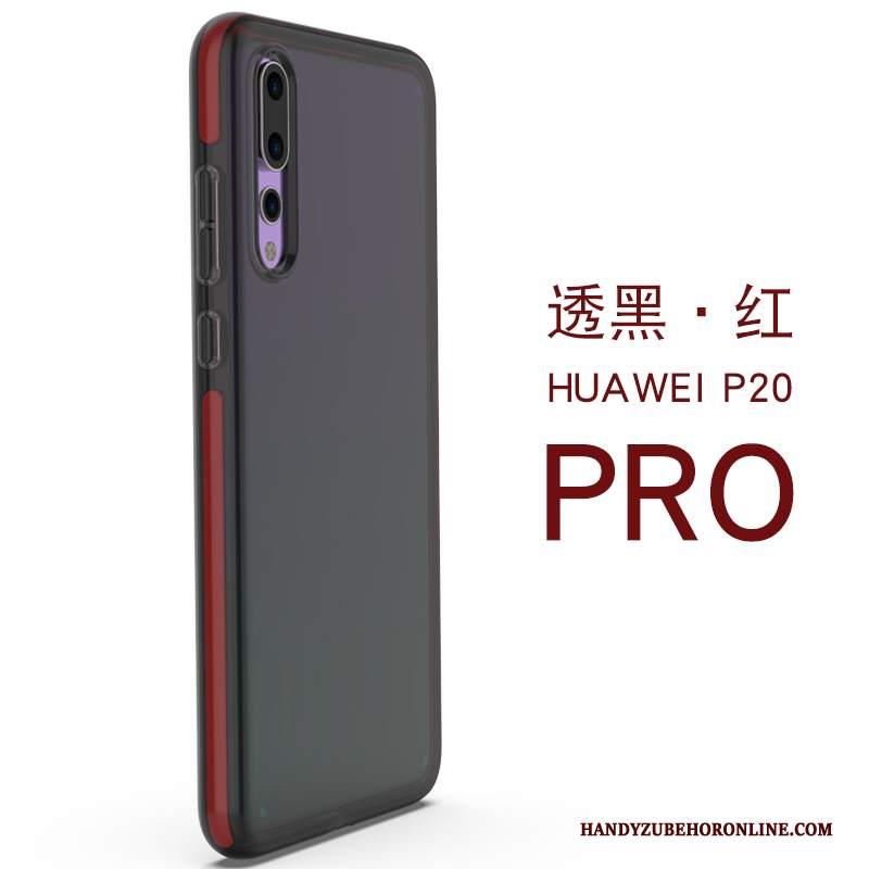 Custodia Huawei P20 Pro Silicone Di Personalità Trasparente, Cover Huawei P20 Pro Telefono Anti-caduta