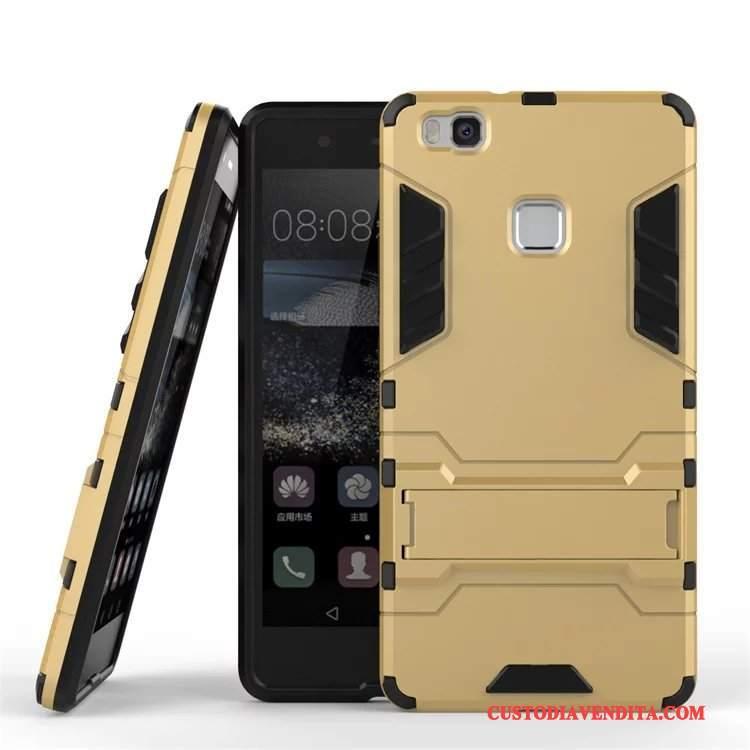 Custodia Huawei P9 Lite Cartone Animato Telefono Supporto, Cover Huawei P9 Lite Protezione Tutto Incluso Anti-caduta