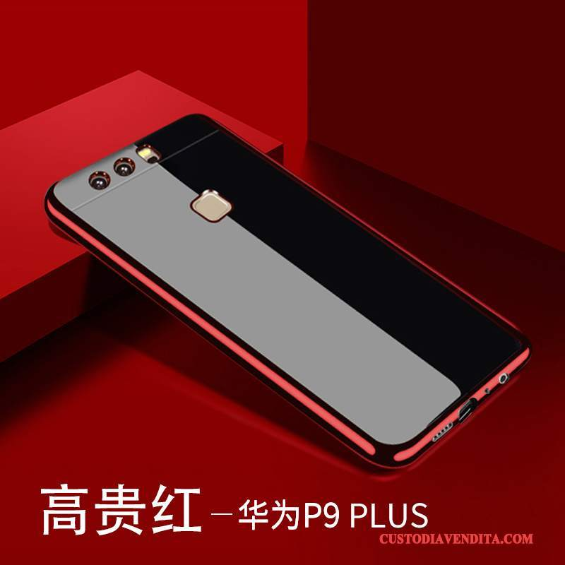 Custodia Huawei P9 Plus Silicone Telefono Sottile, Cover Huawei P9 Plus Protezione Anti-caduta Trasparente