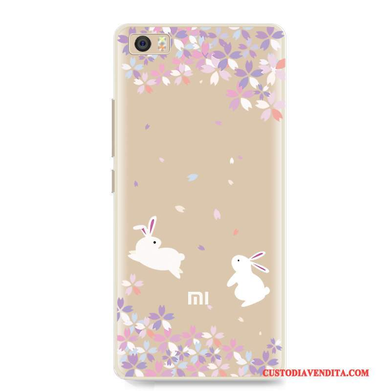 Custodia Mi 5 Cartone Animato Fresco Bello, Cover Mi 5 Silicone Piccola Tutto Incluso