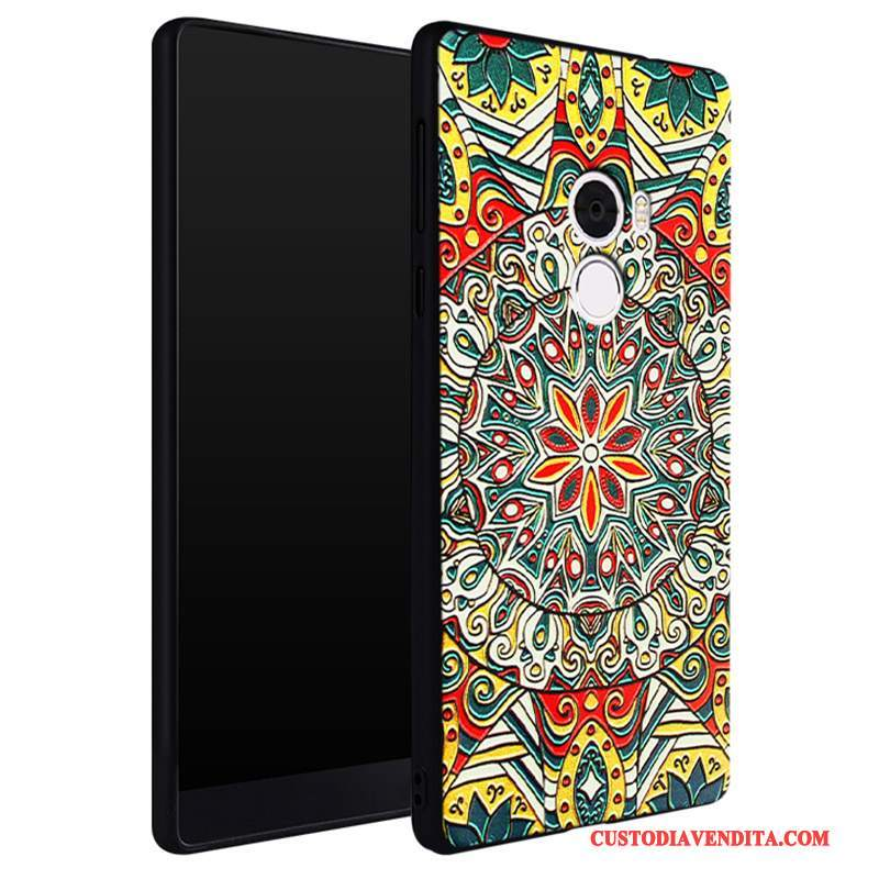 Custodia Mi Mix 2 Colore Piccolatelefono, Cover Mi Mix 2 Creativo Morbido Ornamenti Appesi