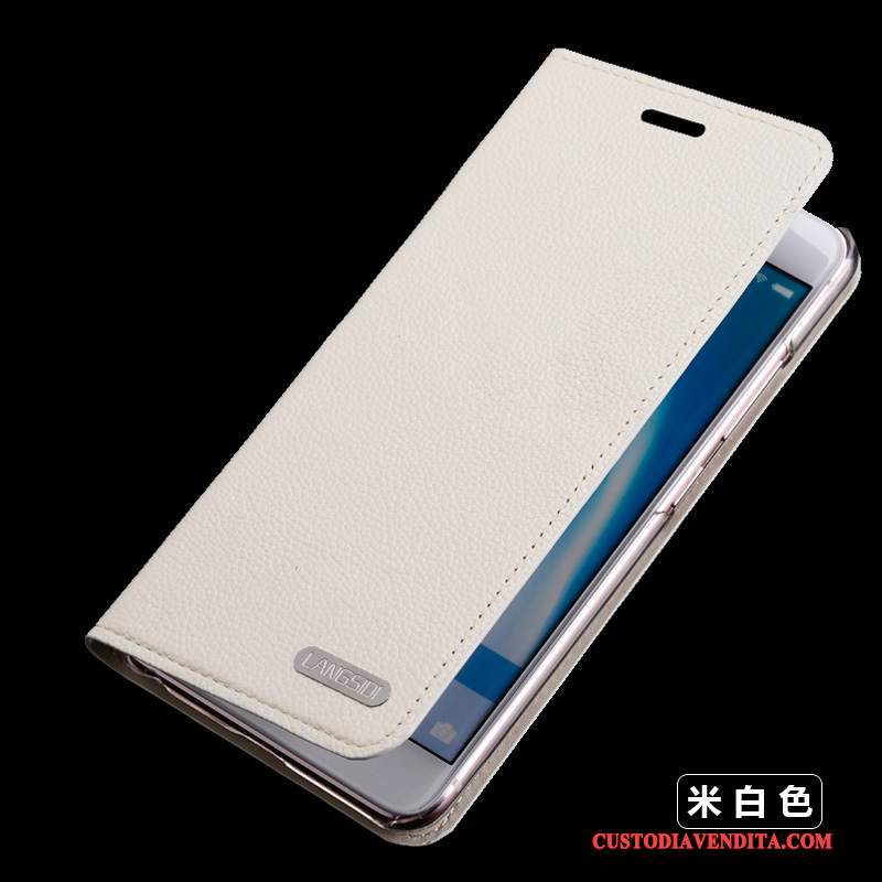 Custodia Moto X Force Folio Telefono Bianco, Cover Moto X Force Pelle Anti-caduta
