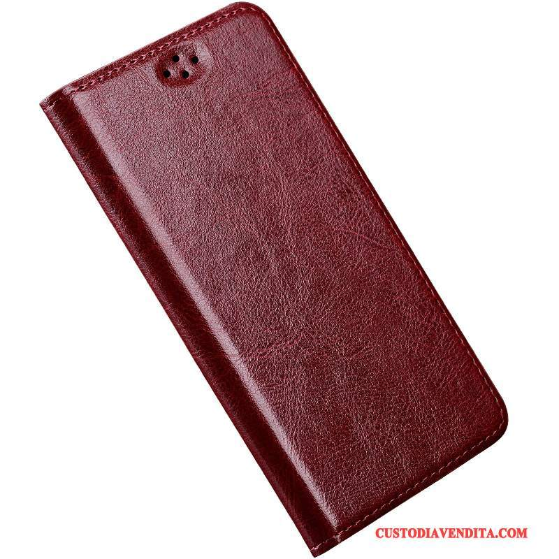 Custodia Moto X Force Pelle Vino Rossotelefono, Cover Moto X Force Folio