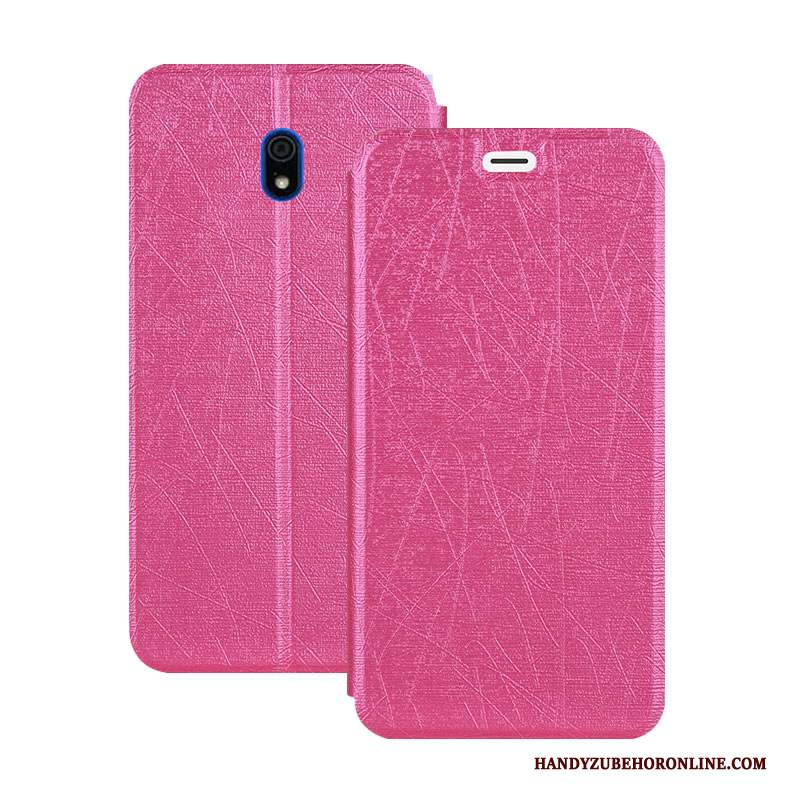 Custodia Redmi 8a Pelle Telefono Hemming, Cover Redmi 8a Folio Piccola Morbido