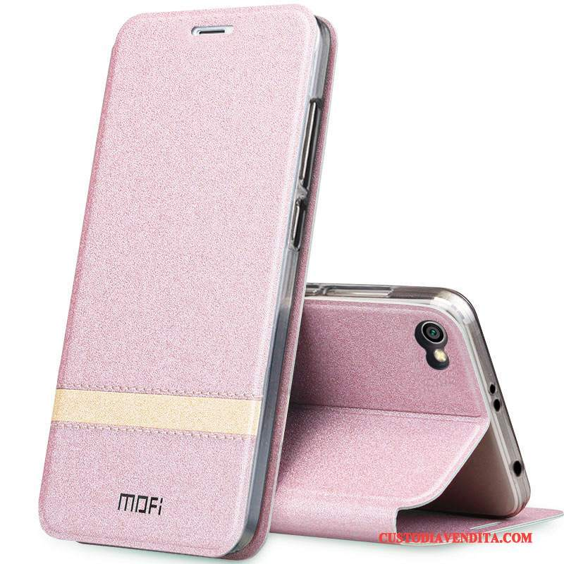 Custodia Redmi Note 5 Pelle Rosa Tutto Incluso, Cover Redmi Note 5 Silicone Telefono Alto