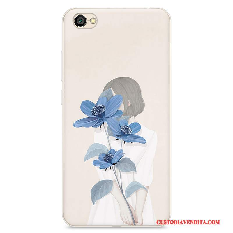 Custodia Redmi Note 5 Silicone Fresco Arte, Cover Redmi Note 5 Protezione Anti-cadutatelefono
