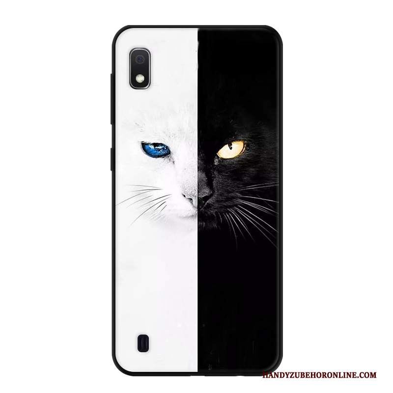 Custodia Samsung Galaxy A10 Creativo Semplicitelefono, Cover Samsung Galaxy A10 Anti-caduta Fresco