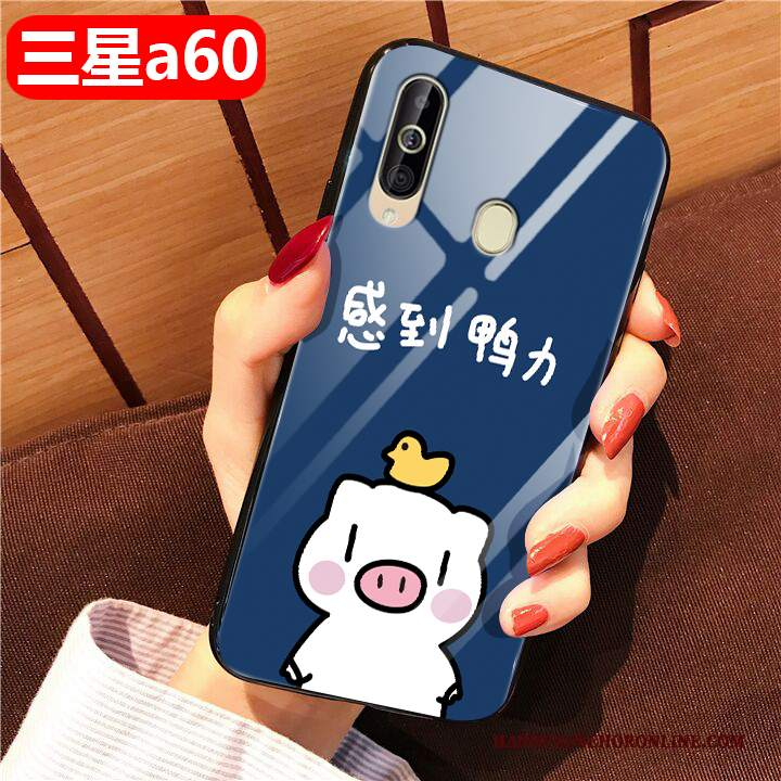 Custodia Samsung Galaxy A60 Creativo Tutto Inclusotelefono, Cover Samsung Galaxy A60 Cartone Animato Difficile Anti-caduta