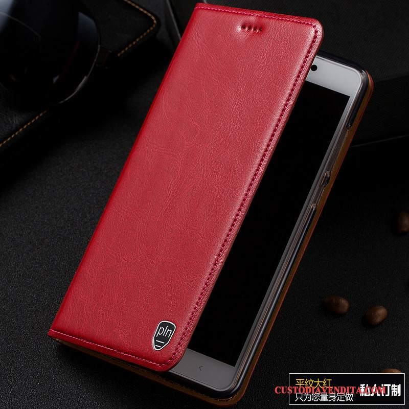 Custodia Samsung Galaxy Note 3 Folio Telefono Modello, Cover Samsung Galaxy Note 3 Pelle Rosso
