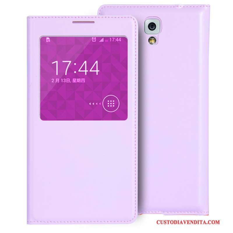 Custodia Samsung Galaxy Note 3 Protezione Porpora Mini, Cover Samsung Galaxy Note 3 Pelle Telefono