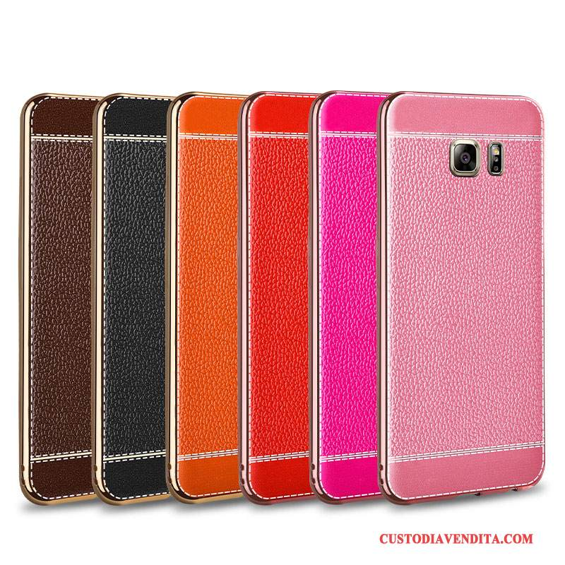Custodia Samsung Galaxy Note 5 Pelle Anti-caduta Tendenza, Cover Samsung Galaxy Note 5 Protezione Placcatura Tutto Incluso