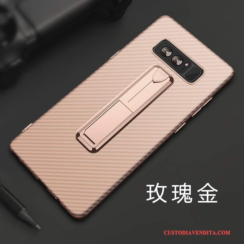 Custodia Samsung Galaxy Note 8 Silicone Tutto Incluso Rosa, Cover Samsung Galaxy Note 8 Protezione Telefono Ring