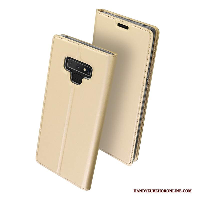 Custodia Samsung Galaxy Note 9 Protezione Morbido Carta, Cover Samsung Galaxy Note 9 Folio Tutto Inclusotelefono