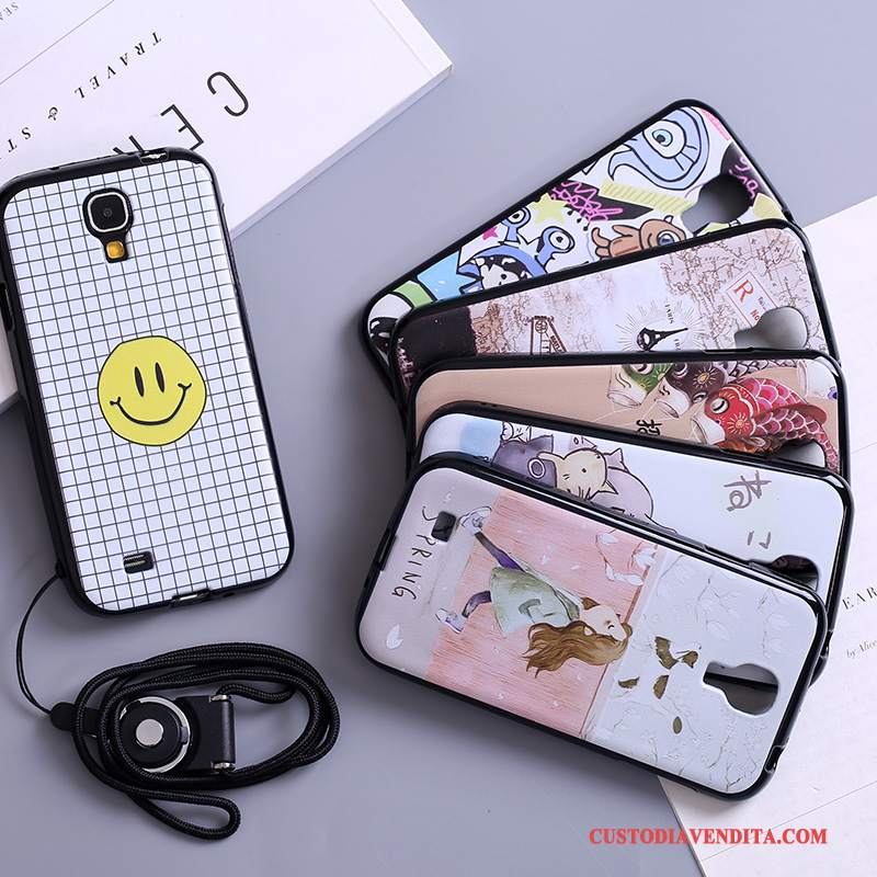 Custodia Samsung Galaxy S4 Cartone Animato Bello Morbido, Cover Samsung Galaxy S4 Colore Telefono Tutto Incluso