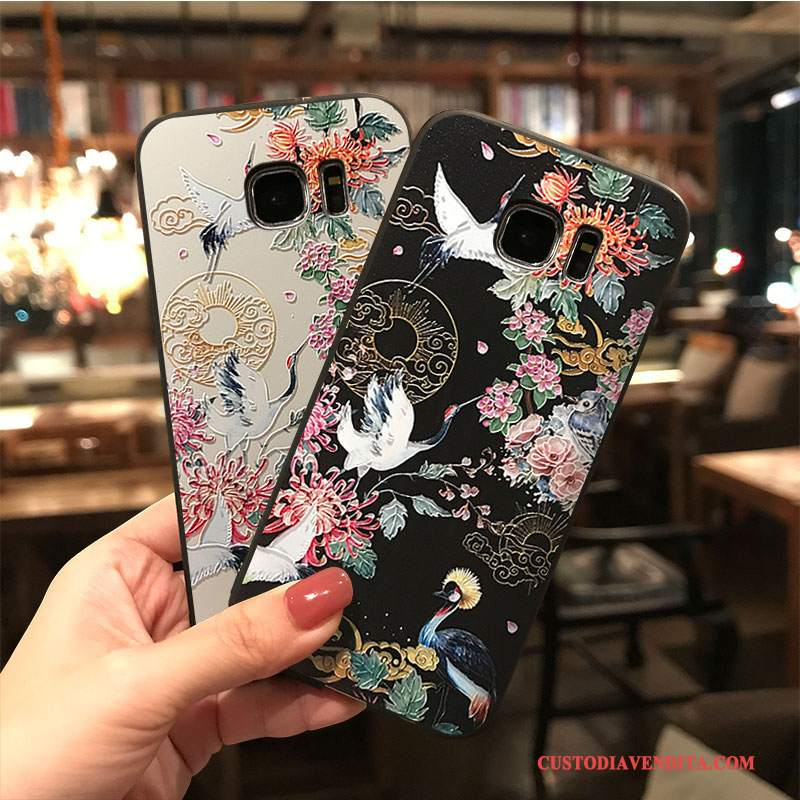 Custodia Samsung Galaxy S7 Edge Colore Ornamenti Appesi Tendenza, Cover Samsung Galaxy S7 Edge Cartone Animato Tutto Inclusotelefono