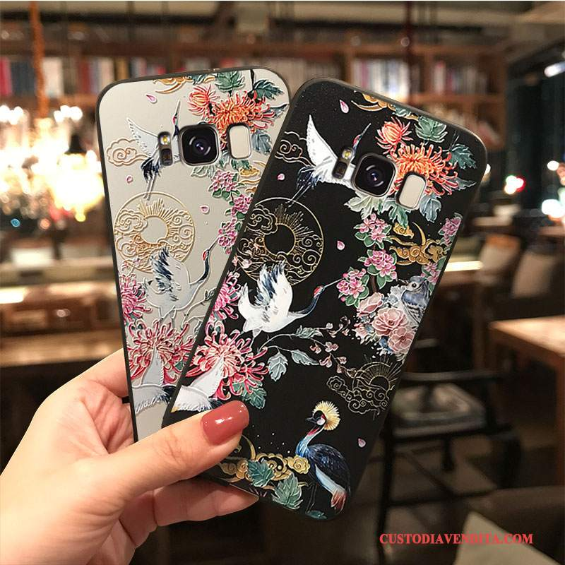 Custodia Samsung Galaxy S8+ Cartone Animato Ornamenti Appesitelefono, Cover Samsung Galaxy S8+ Colore Tutto Incluso