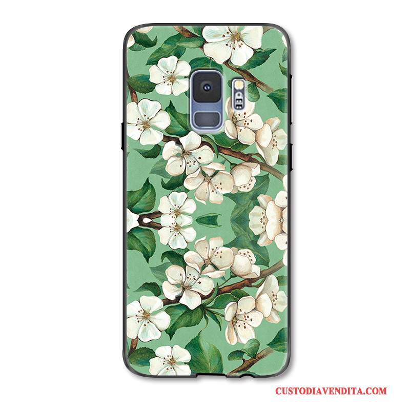 Custodia Per Samsung Galaxy S9 Ornamenti Appesi Goffratura Cover