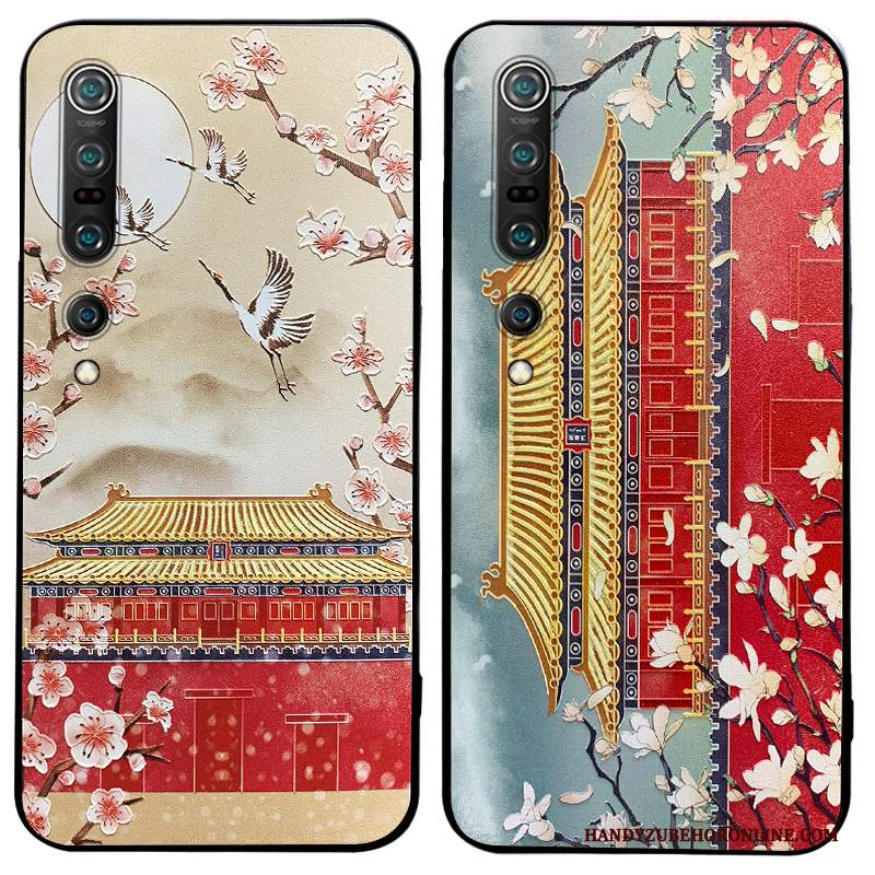 Custodia Xiaomi Mi 10 Pro Creativo High End Piccola, Cover Xiaomi Mi 10 Pro Goffratura Vento Tendenza