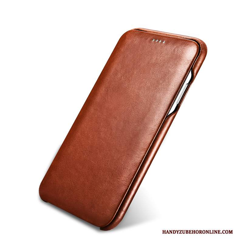 Custodia iPhone 11 Pro Folio High Endtelefono, Cover iPhone 11 Pro Pelle Mucca Nuovo