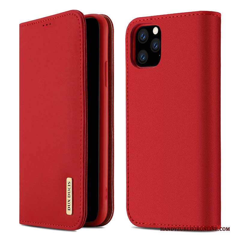 Custodia iPhone 11 Pro Pelle Tutto Inclusotelefono, Cover iPhone 11 Pro Rosso Nuovo
