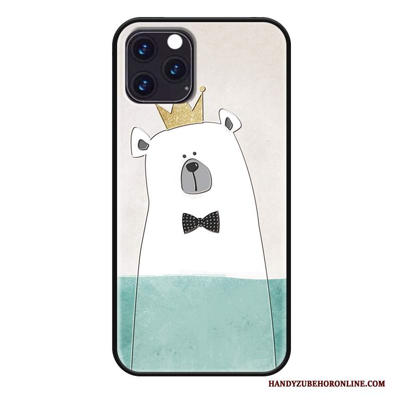 Custodia iPhone 11 Pro Protezione Amanti Bello, Cover iPhone 11 Pro Cartone Animato Verdetelefono
