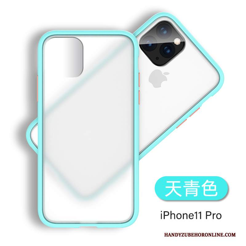 Custodia iPhone 11 Pro Silicone Tendenza Anti-caduta, Cover iPhone 11 Pro Trasparentetelefono