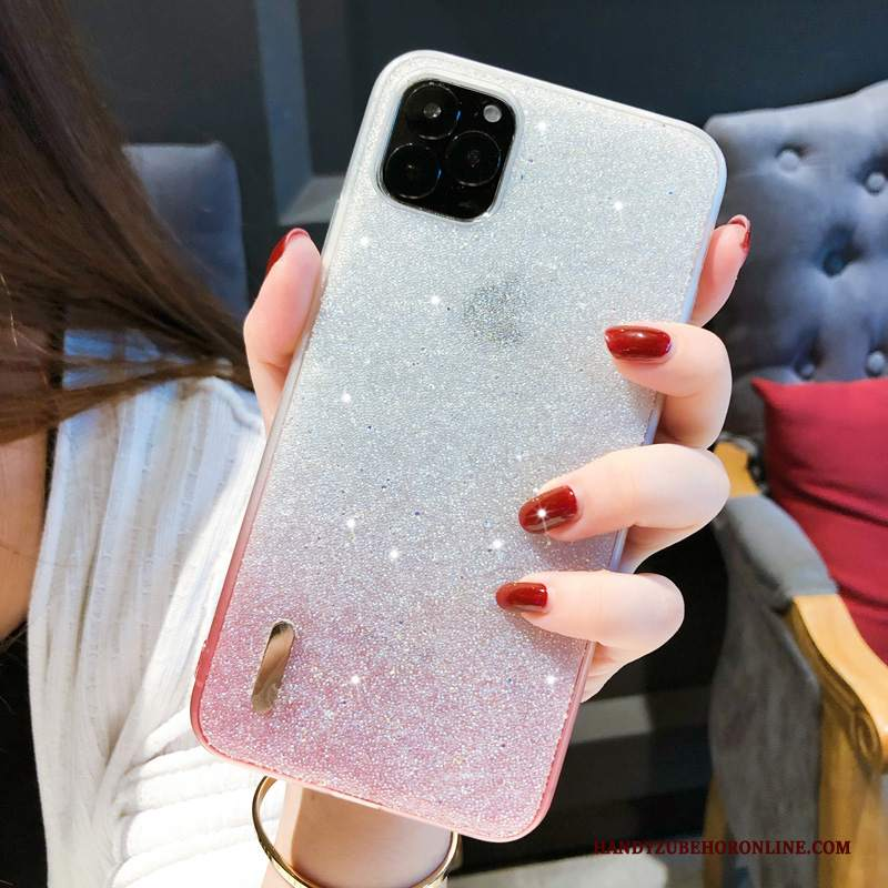 Custodia iPhone 11 Pro Strass Tendenza Gradiente, Cover iPhone 11 Pro Creativo Di Personalitàtelefono