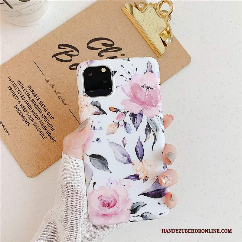 Custodia iPhone 11 Pro Vintage Tutto Incluso Anti-caduta, Cover iPhone 11 Pro Silicone Artetelefono