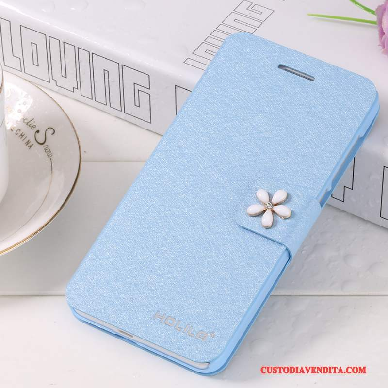 Custodia iPhone 5c Pelle Blutelefono, Cover iPhone 5c Folio