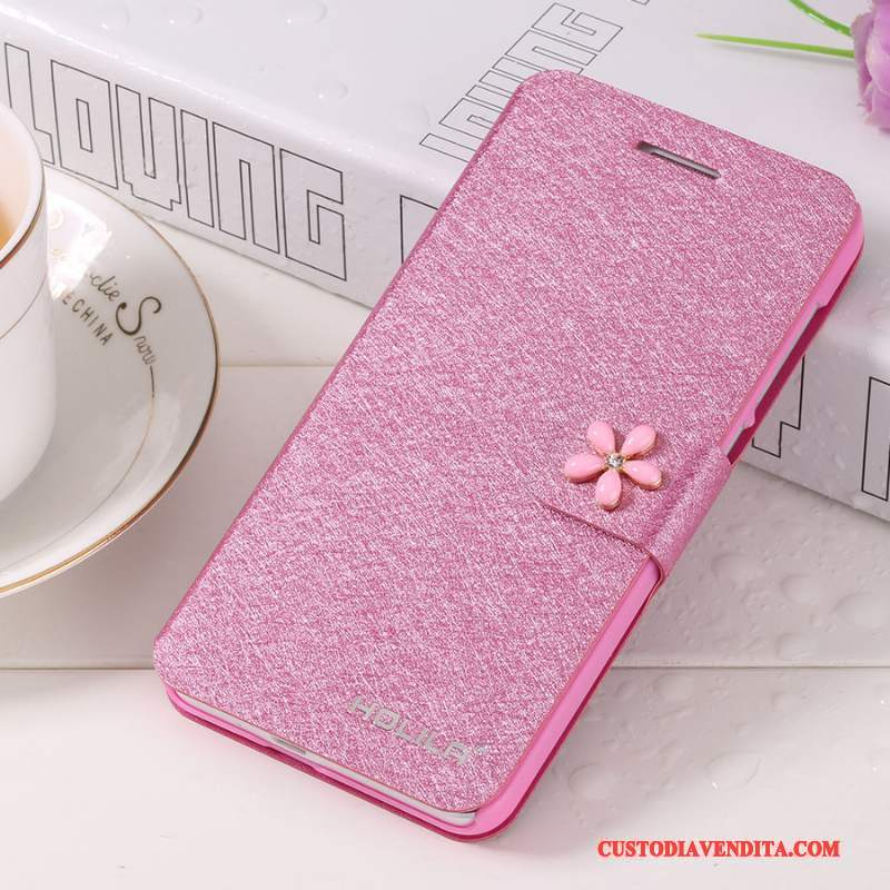 Custodia iPhone 5c Pelle Rossotelefono, Cover iPhone 5c Folio
