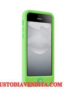 Custodia iPhone 5c Silicone Verdetelefono, Cover iPhone 5c