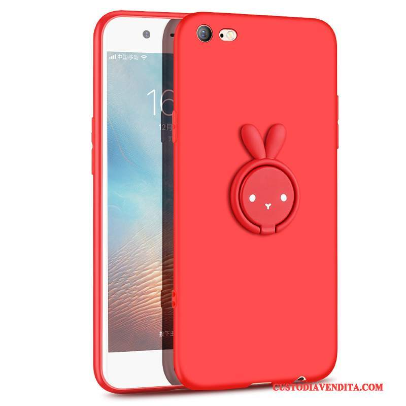 Custodia iPhone 6/6s Plus Creativo Telefono Sottile, Cover iPhone 6/6s Plus Silicone Morbido Anti-caduta