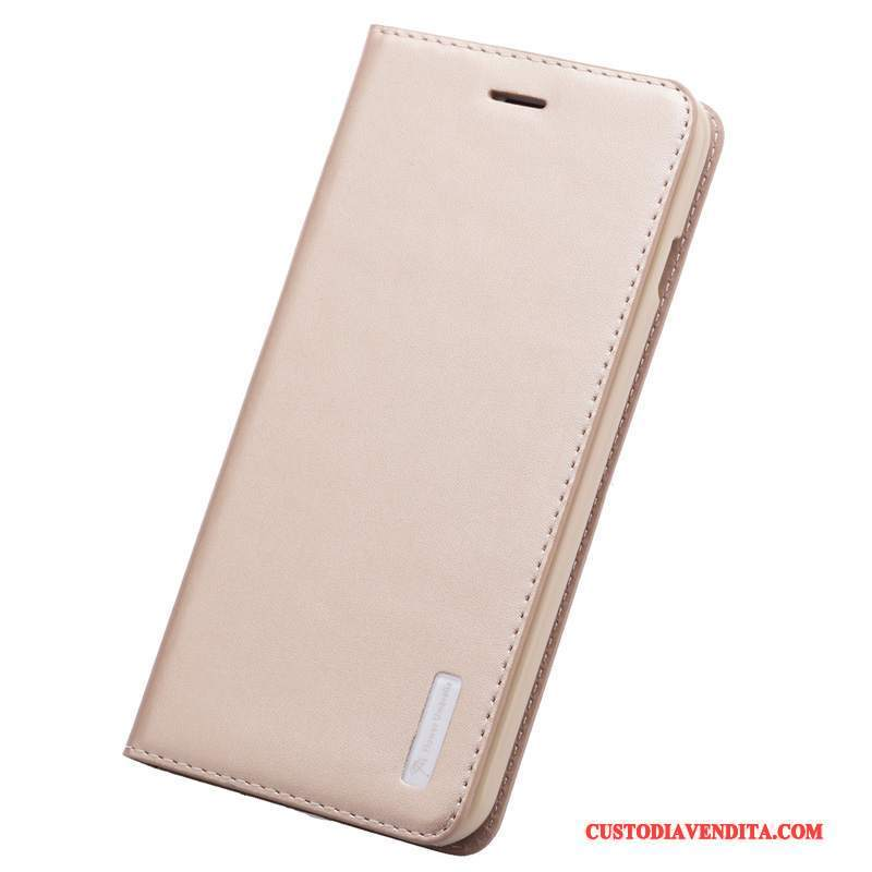 Custodia iPhone 6/6s Protezione Affari Oro, Cover iPhone 6/6s Pelle Tutto Incluso Anti-caduta