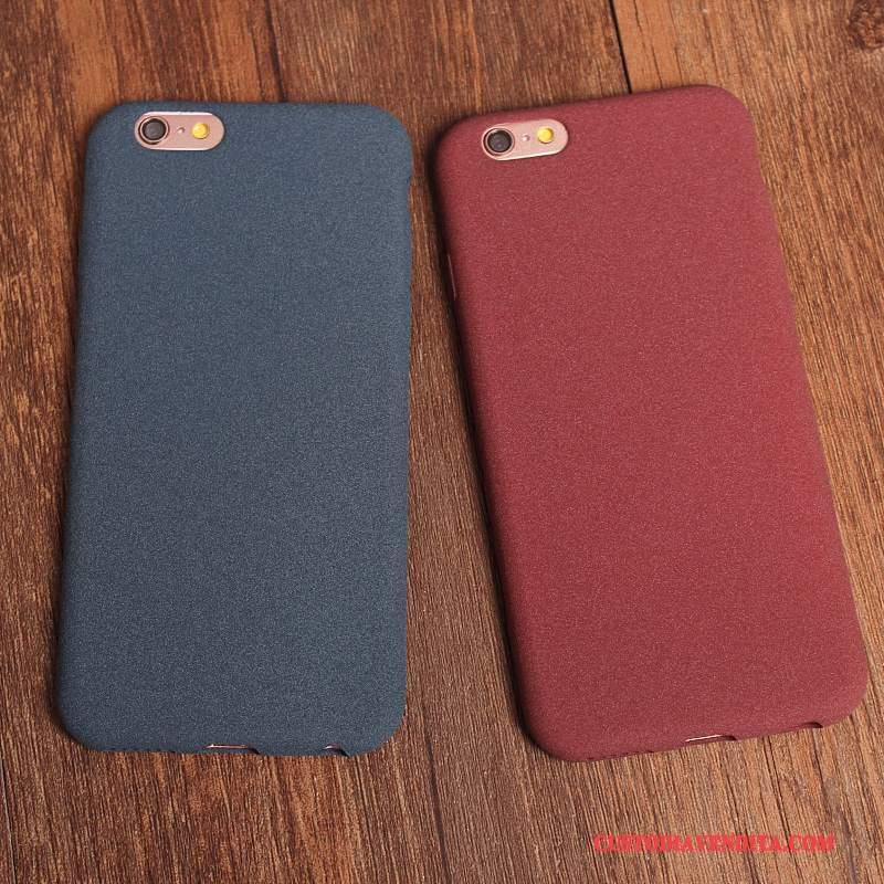 Custodia iPhone 6/6s Silicone Macchiati Blu, Cover iPhone 6/6s Rosso Anti-caduta