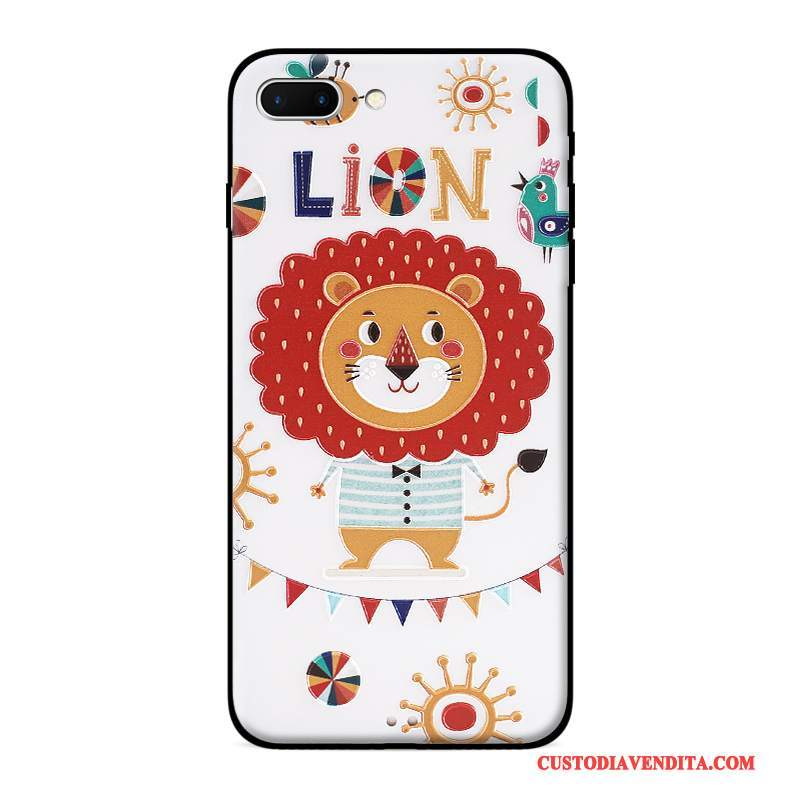 Custodia iPhone 7 Colore Ornamenti Appesitelefono, Cover iPhone 7 Goffratura Bello Morbido