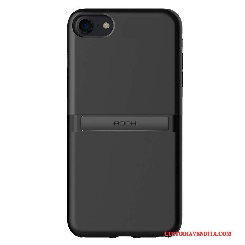 Custodia iPhone 7 Creativo Anti-caduta Nuovo, Cover iPhone 7 Tutto Incluso Nero